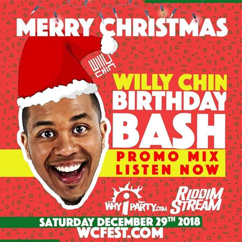 Willy Chin Birthday CD 2018 (WCFEST.COM)