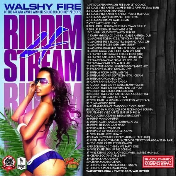 Riddimstream - Walshy Fire