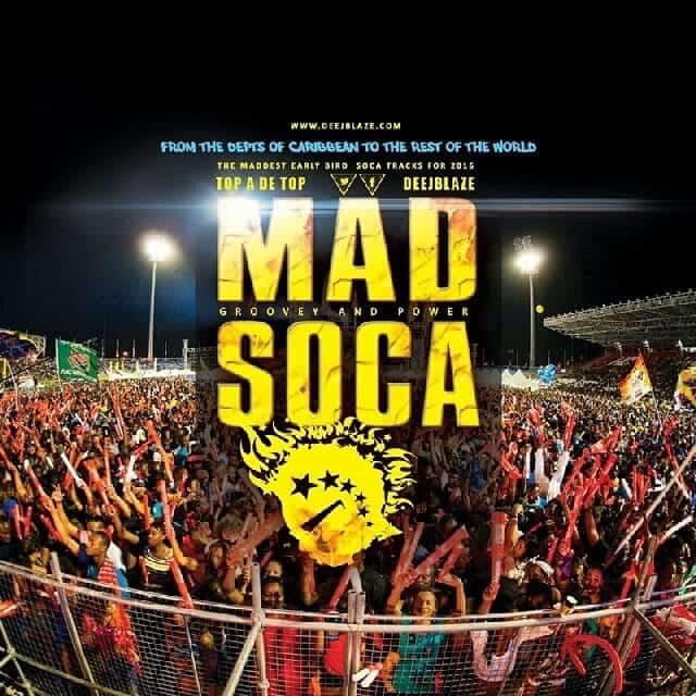 "DeejBlaze ""MAD SOCA 2016"""