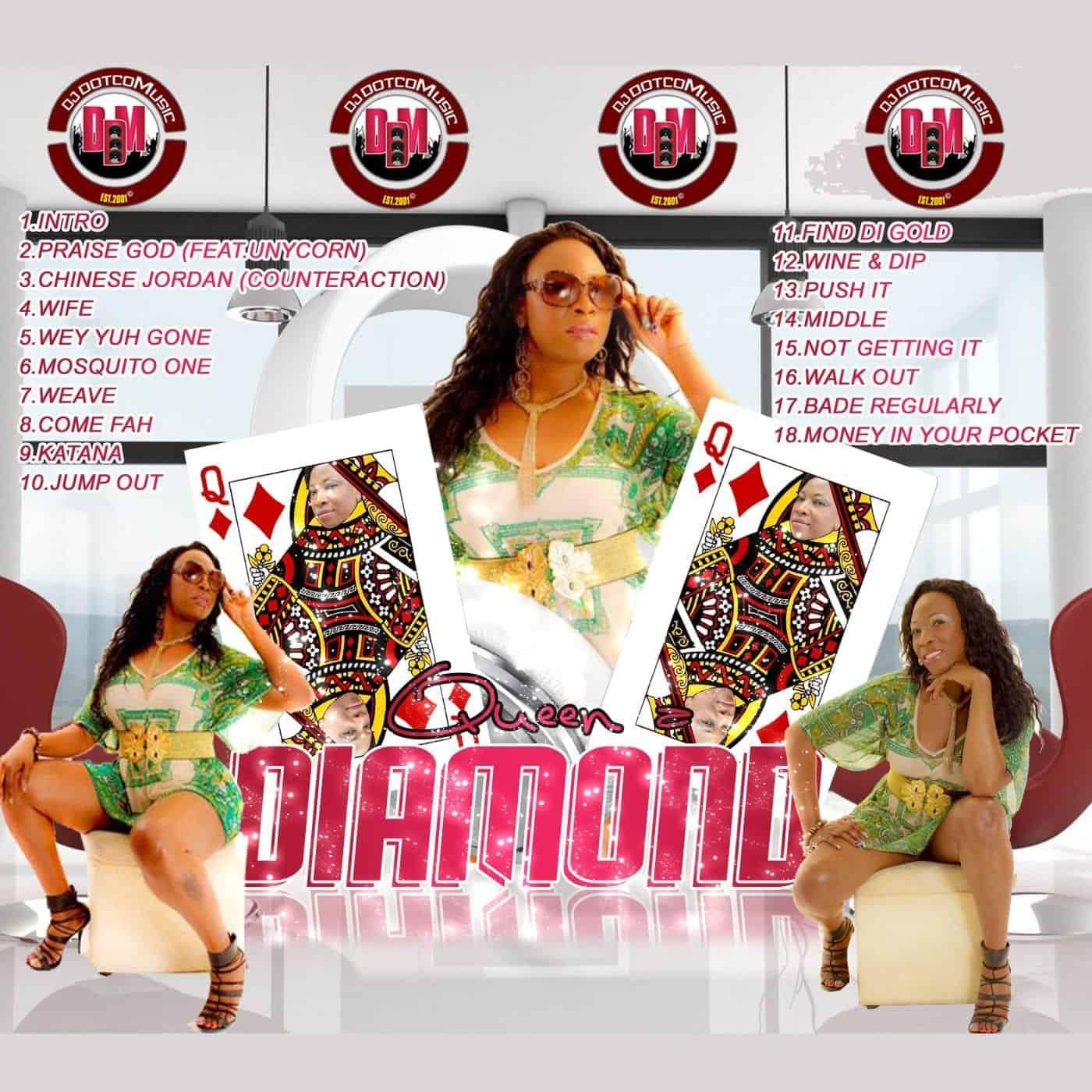 Dj DotCom Presents Macka Diamond Official Mixtape - Queen a Diamond