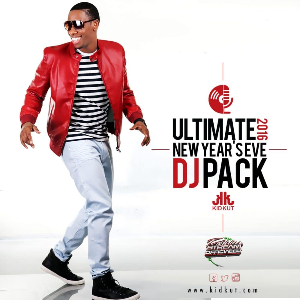 The Ultimate New Years Eve DJ Pack - voiced by The Voice Of The Vibe @KidKut