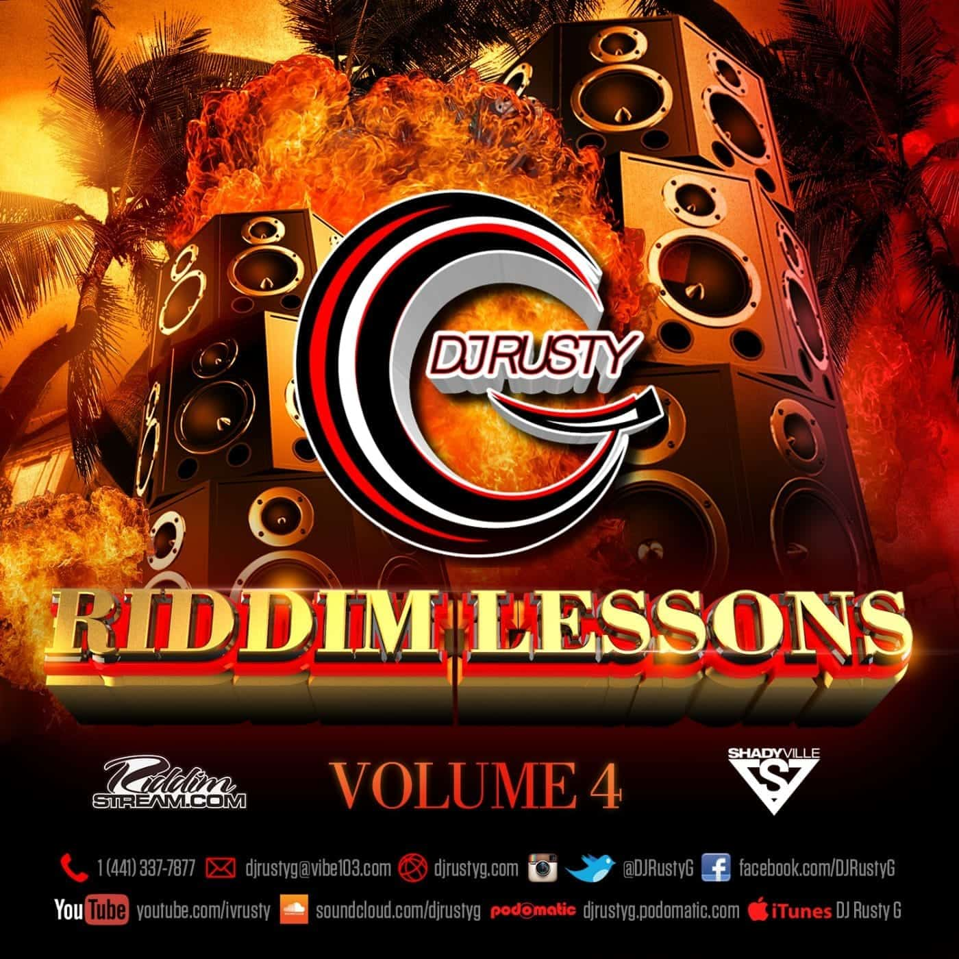 Dj Rusty G - Riddim Lessons Vol 4 - 90`s Dancehall