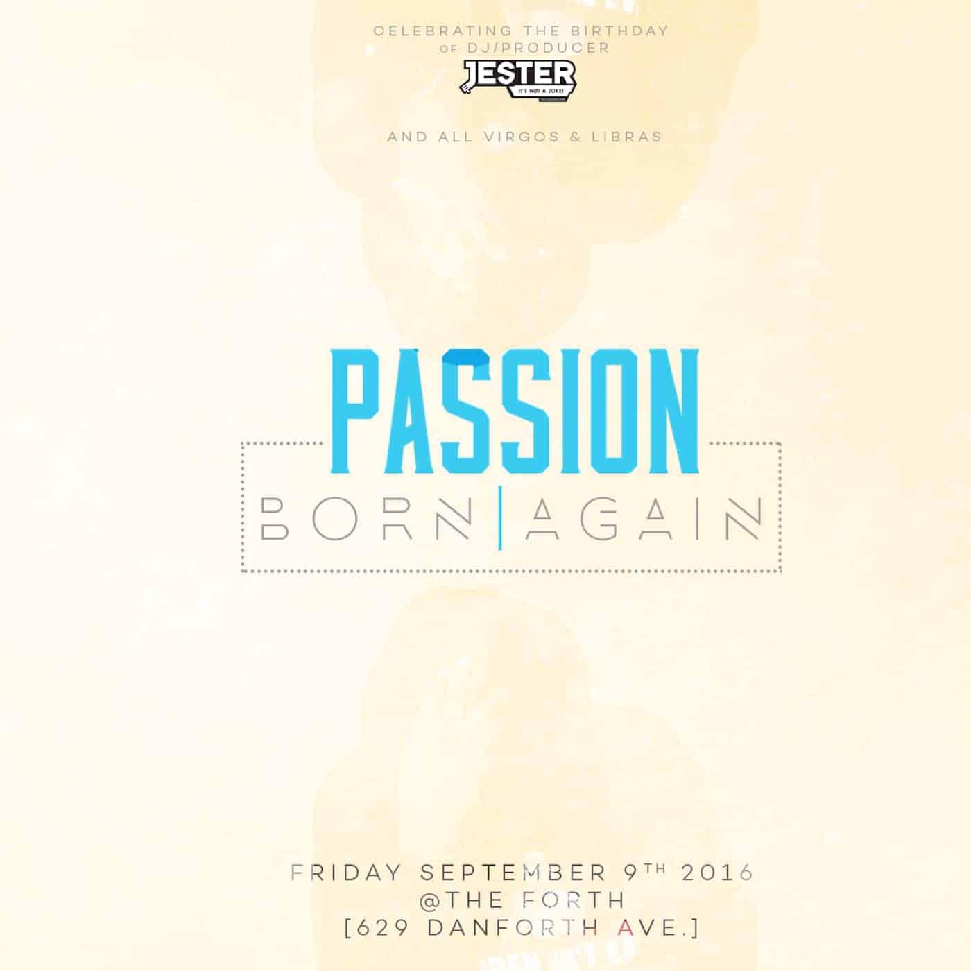 Riddimstream.com & Jester present Passion (The Summer End Birthday Mix)