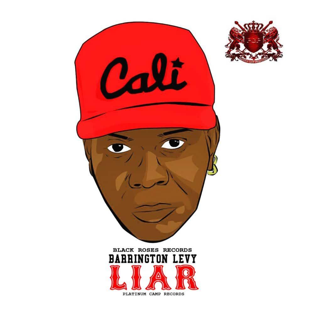 Barrington Levy - Liar - Black Roses & Platinum Camp Records - Hard hat
