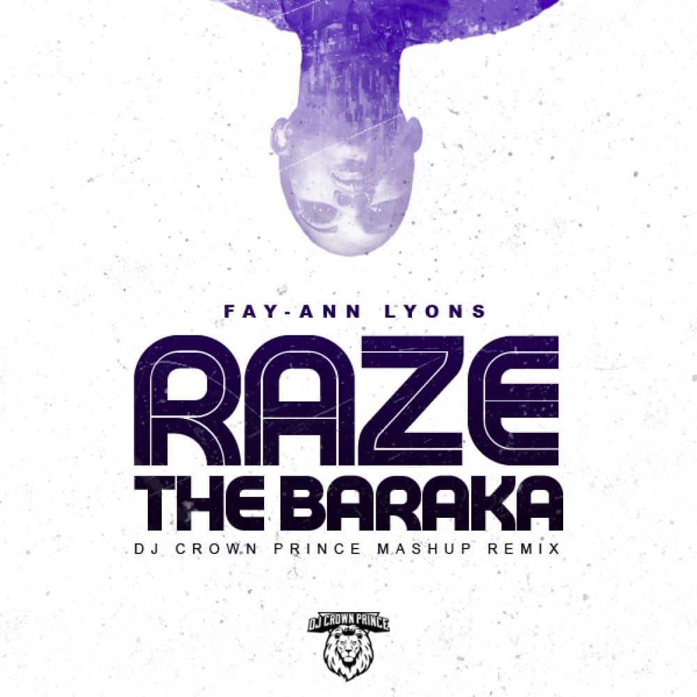 Fay Ann Lyons - Raze The Baraka - Dj Crown Prince Mash Up Remix - Raze