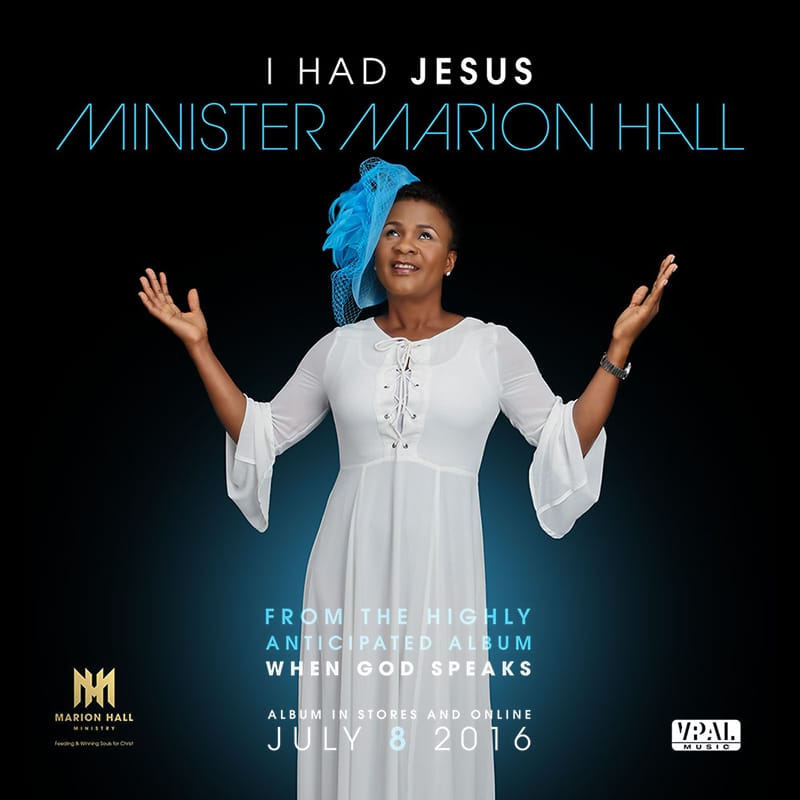 I Had Jesus - Minister Marion Hall