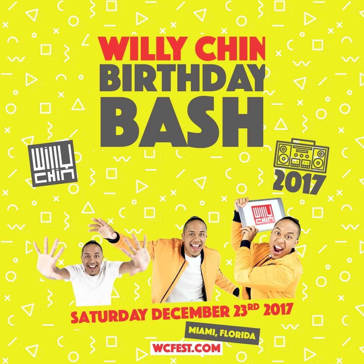 Willy Chin Birthday CD 2017