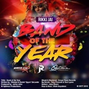 Rikki Jai - Band Of The Year - 2018 Soca - Trinidad
