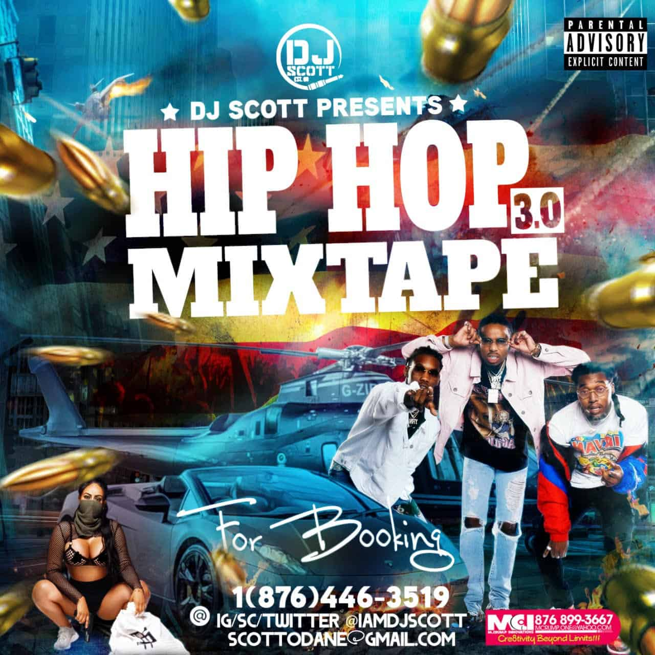 Dj Scott - Hip Hop 3.0 Mixtape
