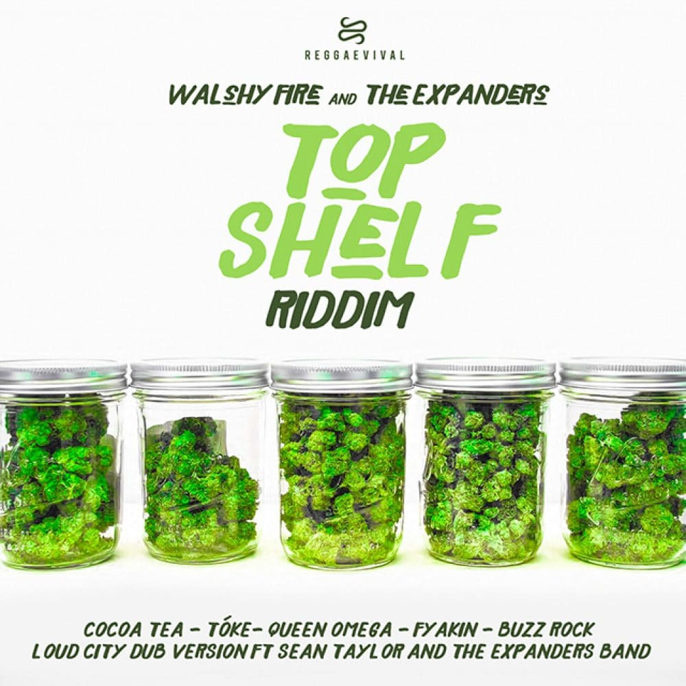 Walshy Fire & The Expanders - Top Shelf Riddim