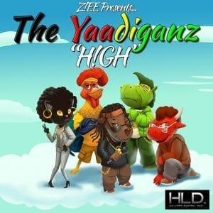 Z!EE - H!GH (The Yaadiganz) - HyLyfeDigital
