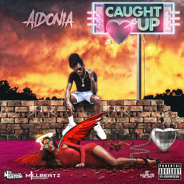 Aidonia - Caught Up - 4th Genna Musik / Millbeatz