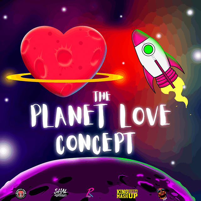Planet Love Concept