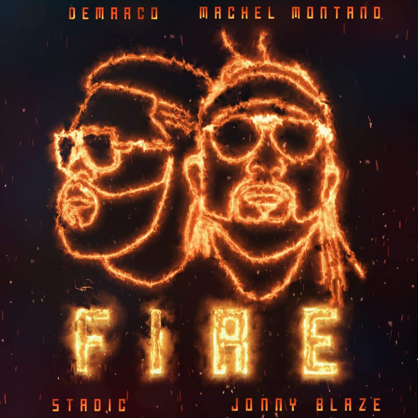 Demarco & Machel Montano - Fire (feat. Stadic & Jonny Blaze) - Clean