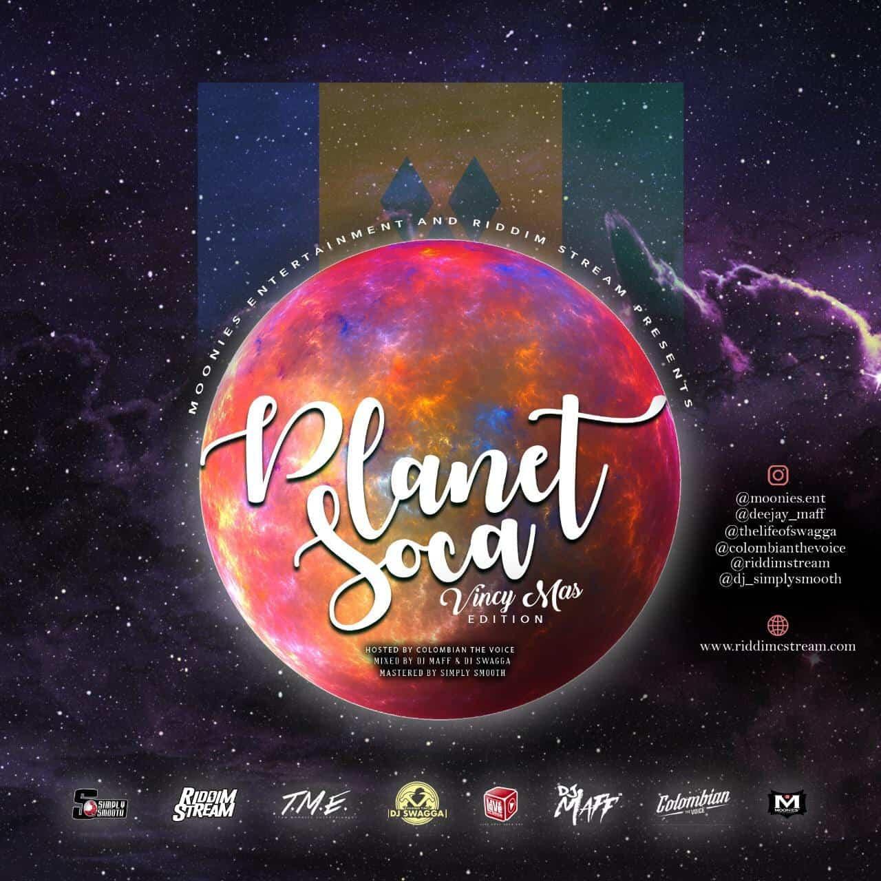 Planet Soca Mix 2019 - Vincy Mas Edition