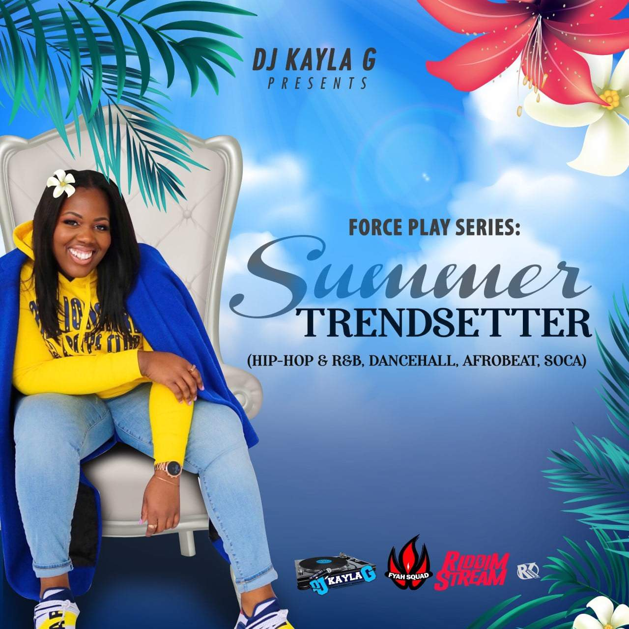 DJ Kayla G - Summer Trendsetter (2019 Mixtape)