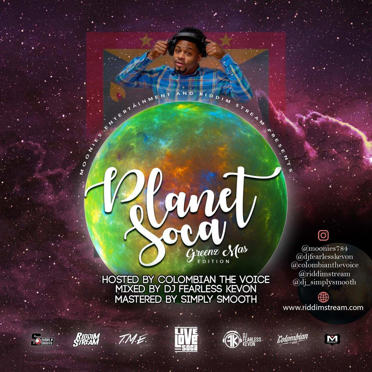 Planet Soca Mix 2019 - Greenz Mas Edition - Grenada