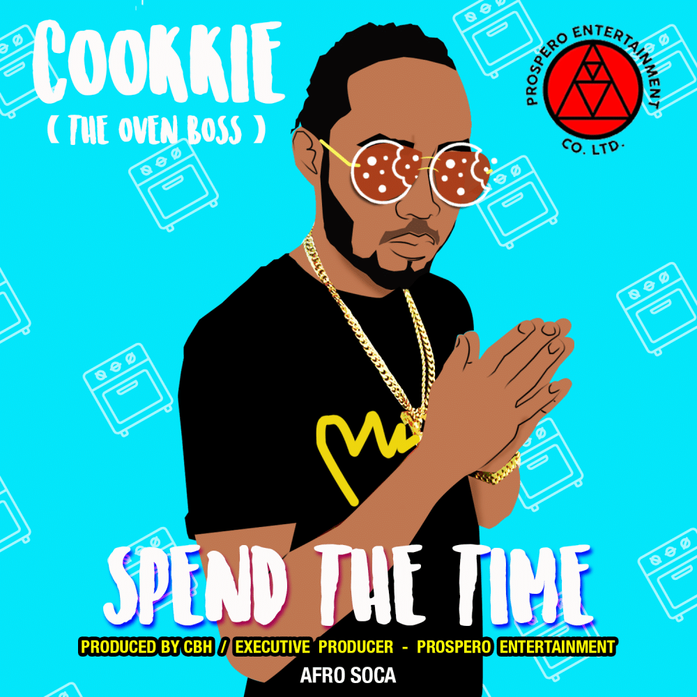New Afro Soca From Cookkie - Spend the Time