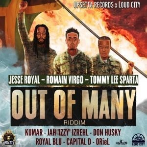 Out Of Many Riddim - Upsetta Records - Loud City - 21st Hapilos