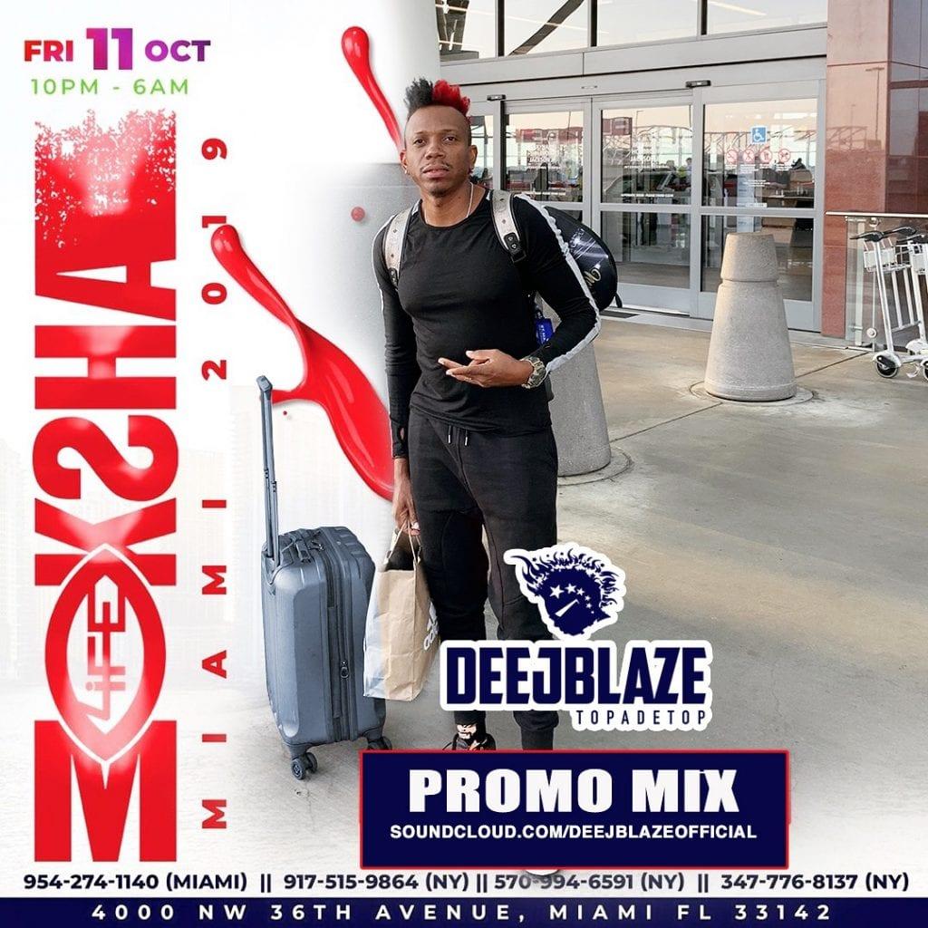 DeejBlaze - Moksha Miami 2019 Promo Mix