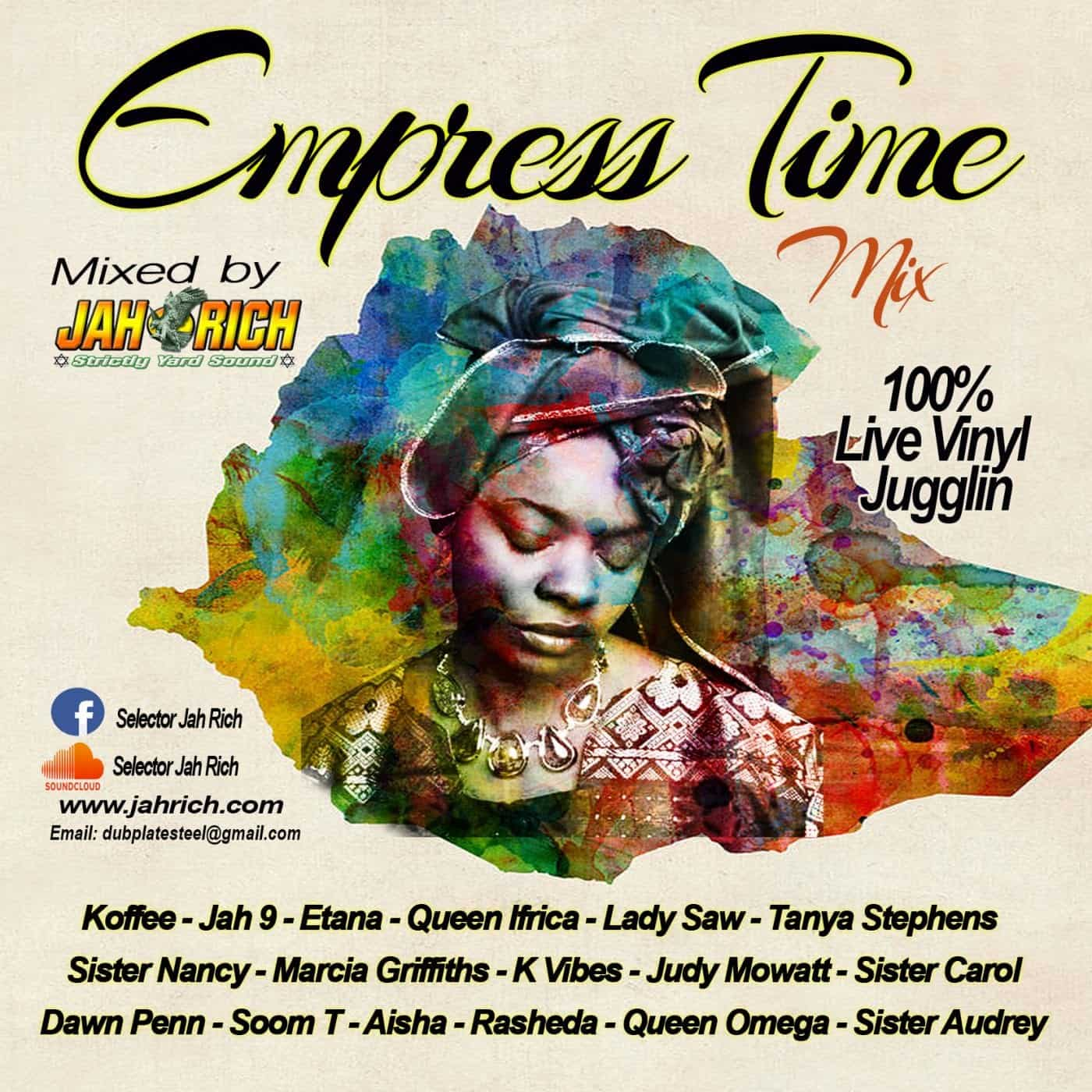 Empress Time MIX CD by Jah Rich