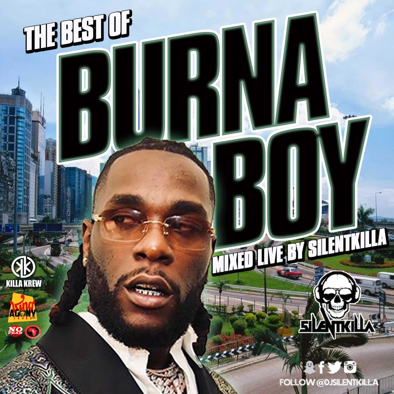 DJ Silentkilla  - The Best Of Burna Boy Mix