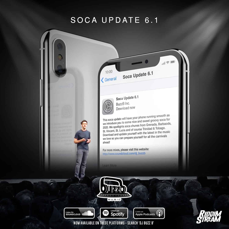 DJ BuzzB - Soca Update 6.1 - New 2020 Groovy Soca