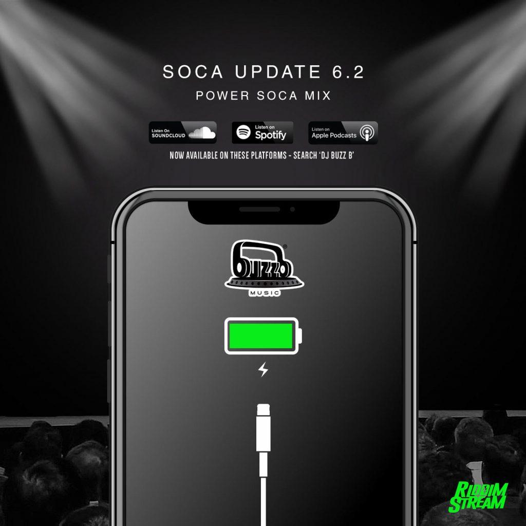 DJ BuzzB - Soca Update 6.2 - New 2020 Power Soca