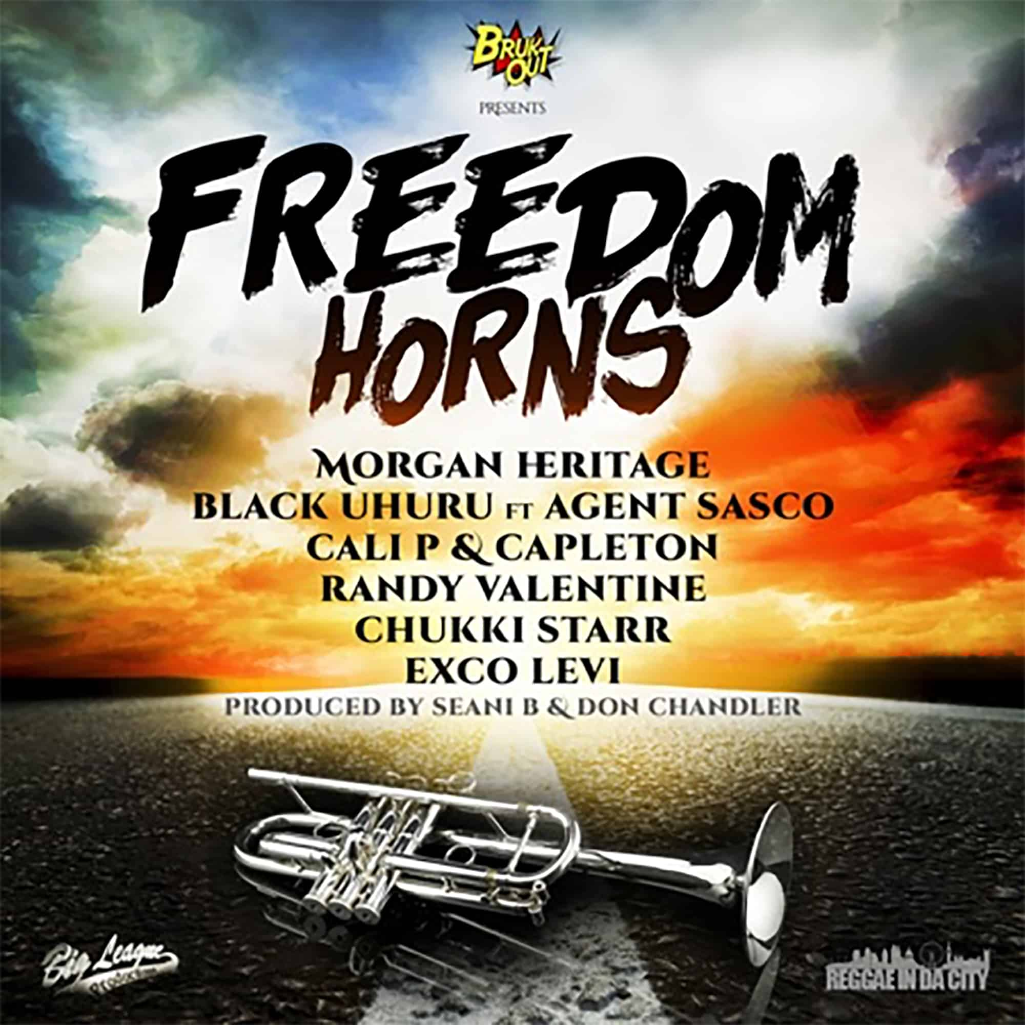 Freedom Horns Produced by Seani B and Don Chandler