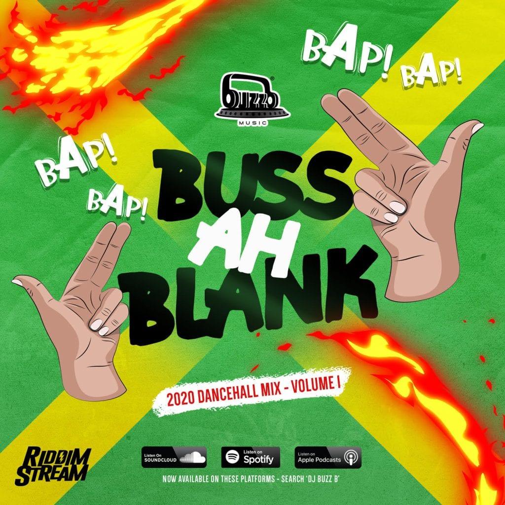 DJ BuzzB - BUSS AH BLANK (VOLUME 1)