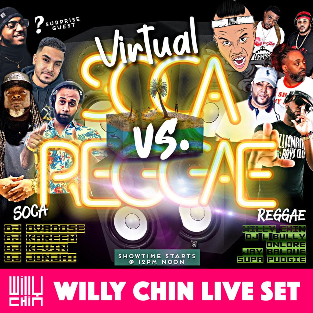WILLY CHIN Live Set for VSVR