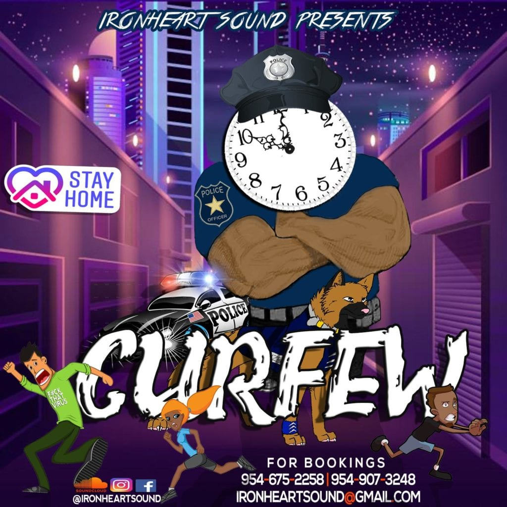 Ironheart Sound presents the #CURFEW 100% Dancehall Mix