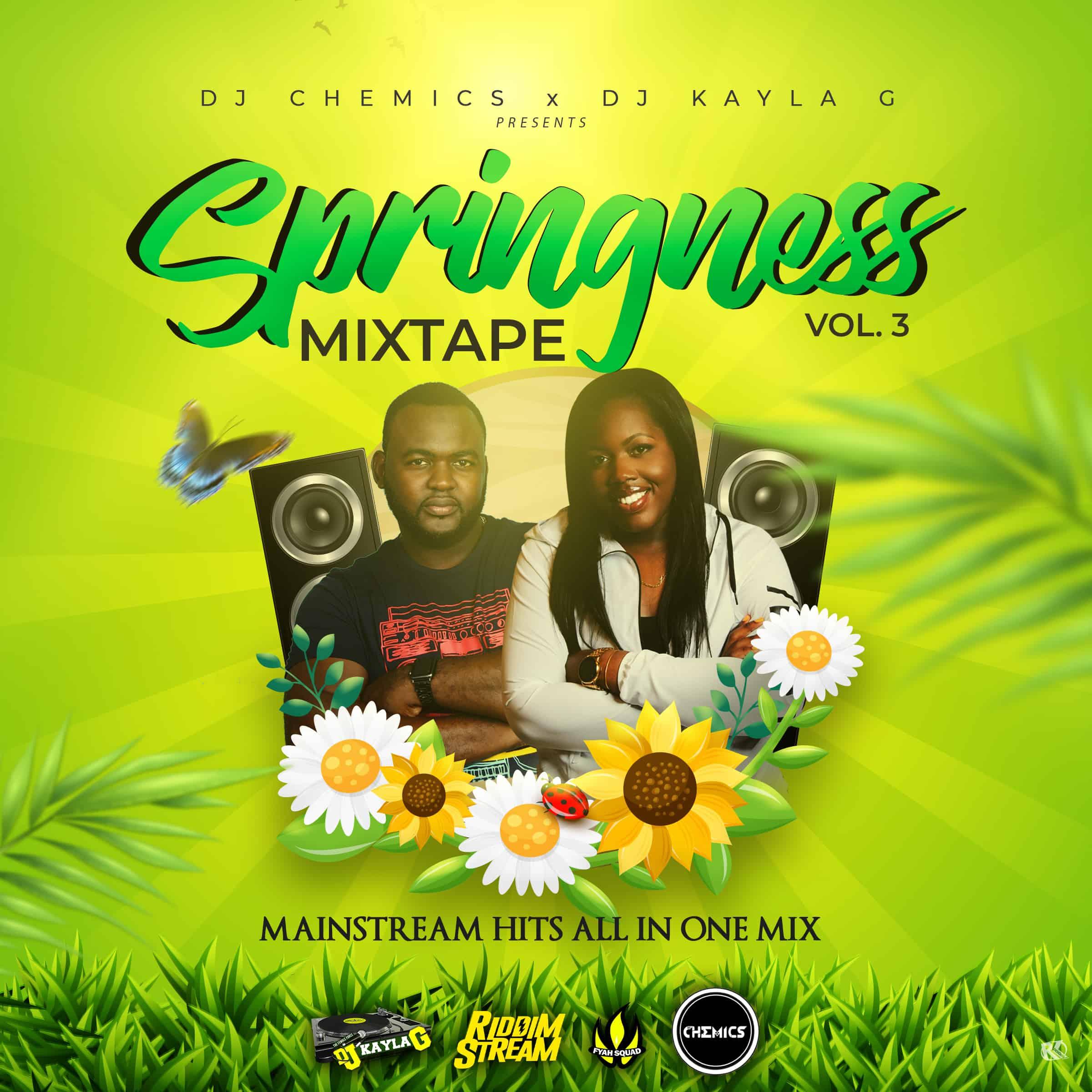 DJ Chemics x DJ Kayla G - SPRINGNESS Vol. 3