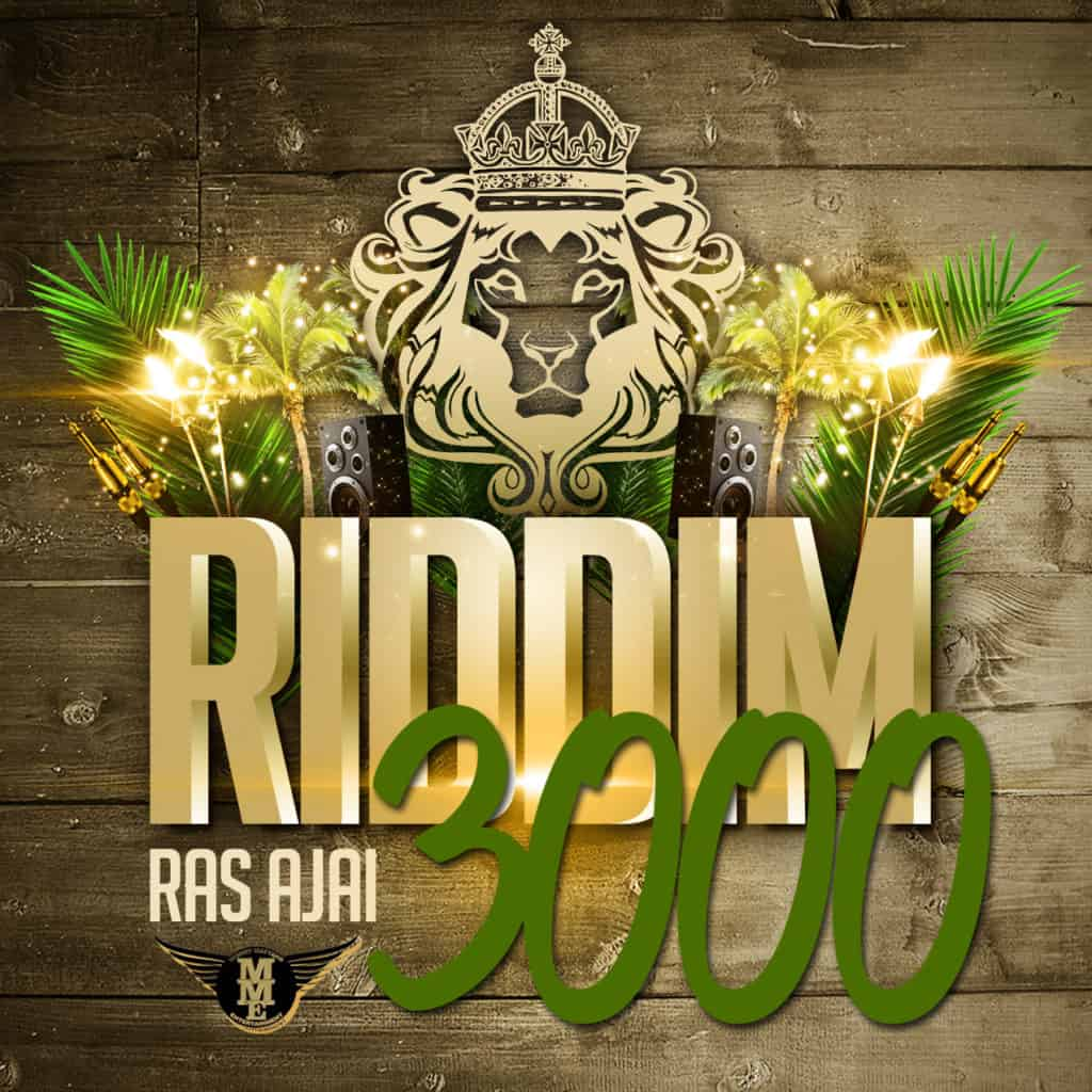 Ras Ajai - Riddim 3000 (JAH JAH IS FOR YOU) - Gem In Eye Album