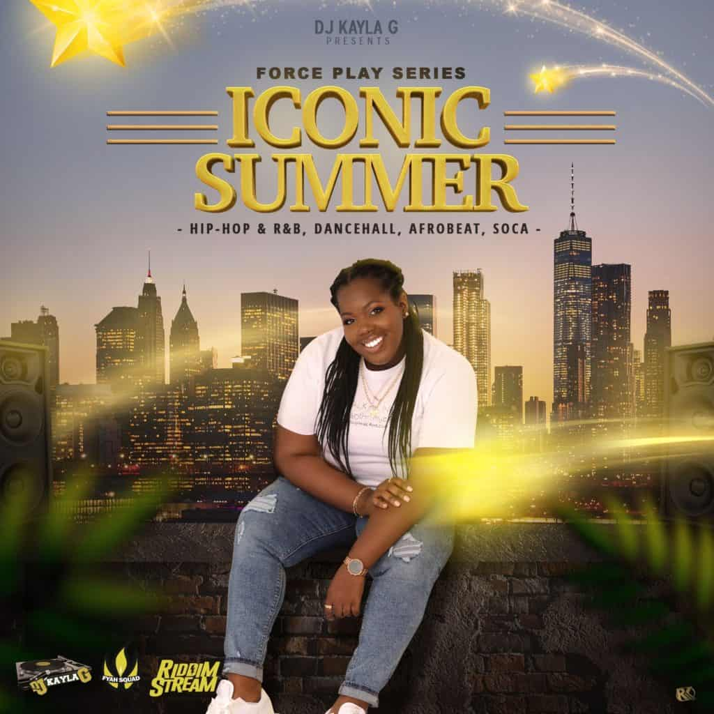DJ Kayla G - Iconic Summer (2020 Mixtape) Cover