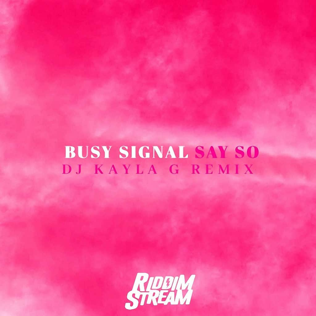 Doja Cat ft Busy Signal - Say So - DJ Kayla G Remix