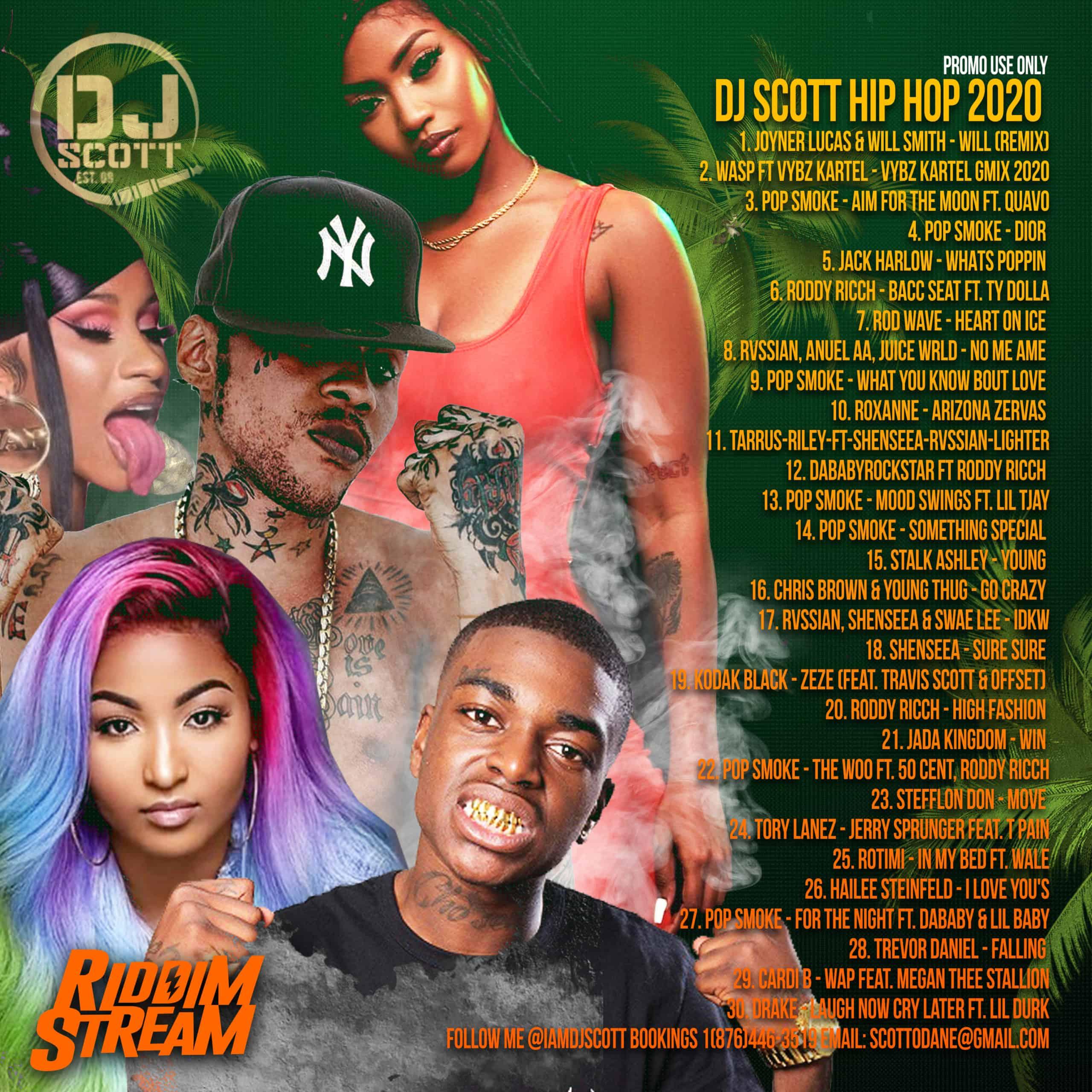 DJ Scott - Hip Hop 2020 Mixtape