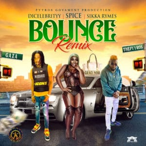 DiCelebrityy - Bounce Remix (feat. Spice & Sikka Rymes)