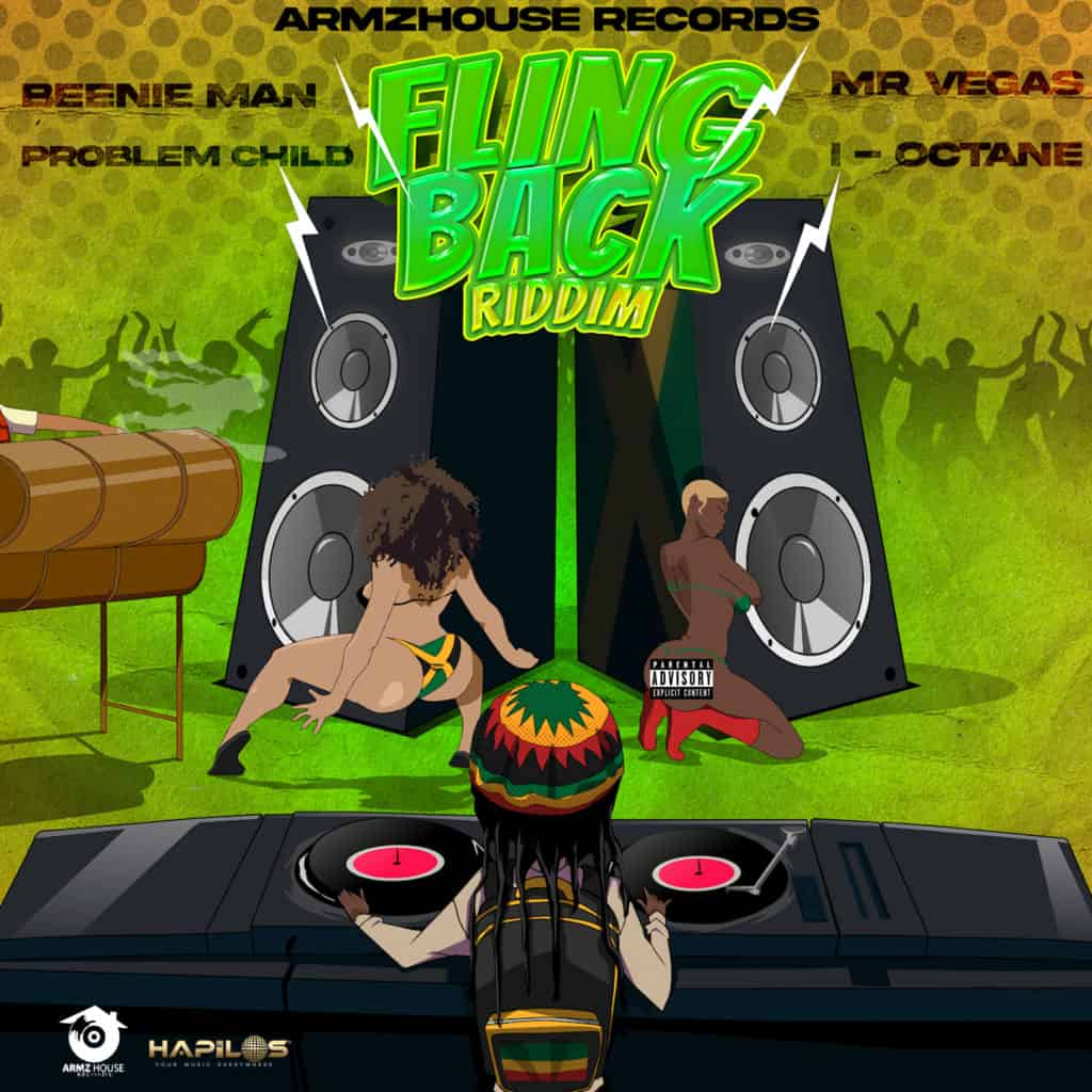 Fling Back Riddim - Various Artists - Armz House Records