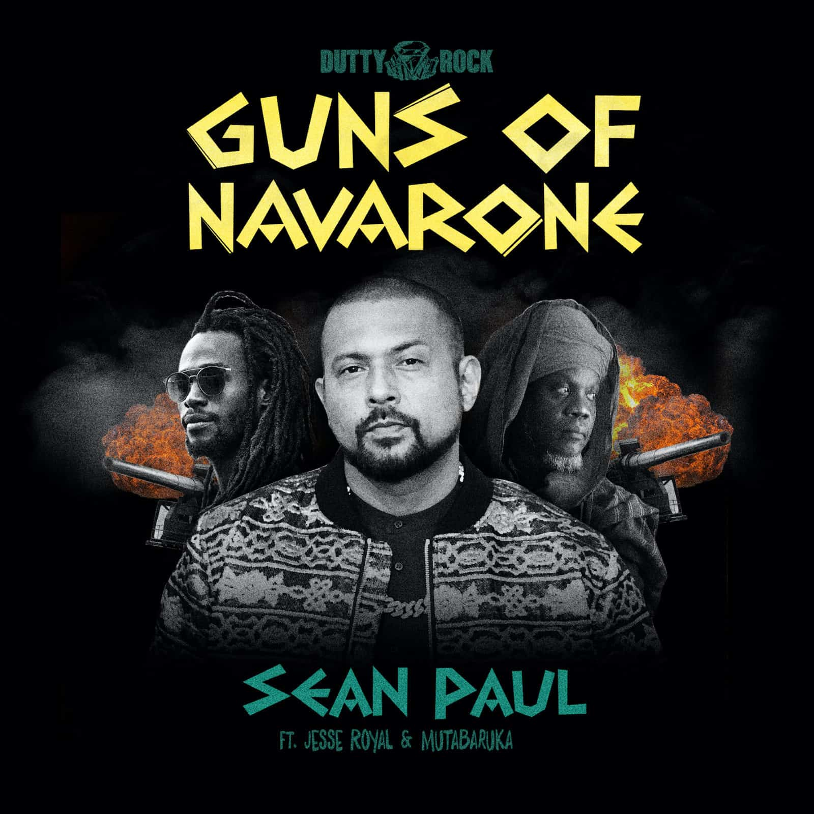 Sean Paul feat Jesse Royal and Mutabaruka - Guns of Navarone