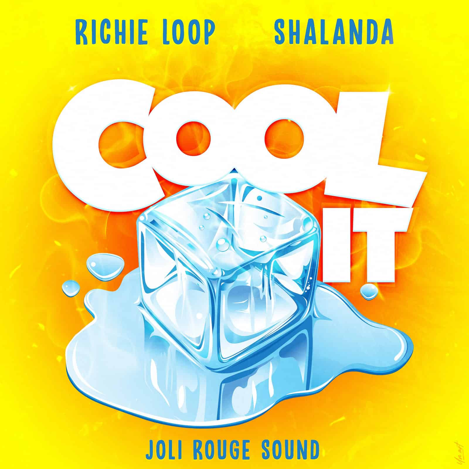 Richie Loop, Shalanda & Joli Rouge Sound - Cool It