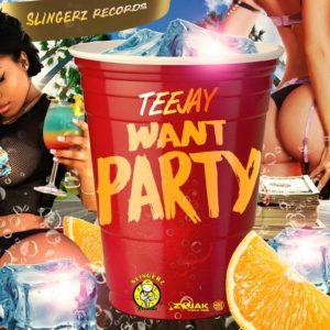 Teejay - Want Party - Slingerz Records