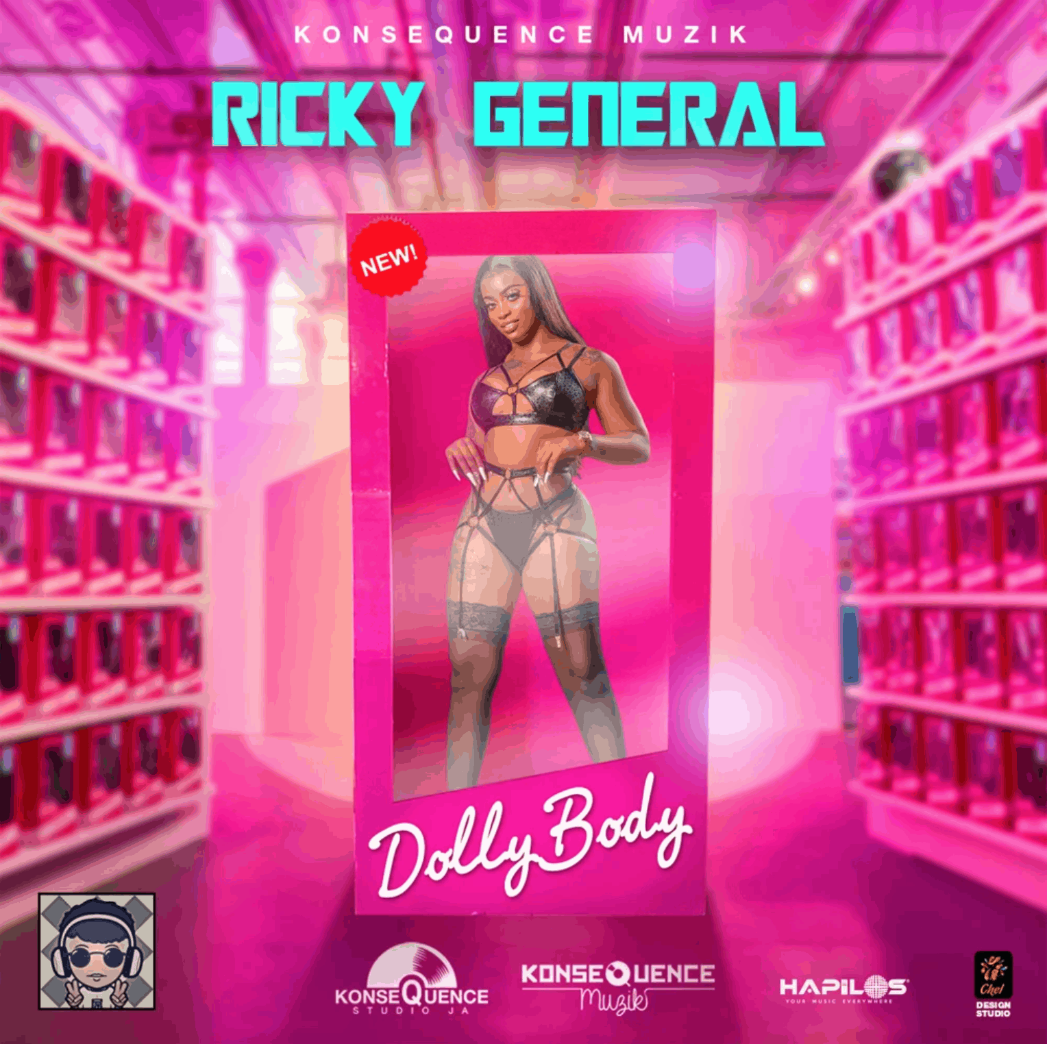 Ricky General - Dolly Body - Konsequence Muzik