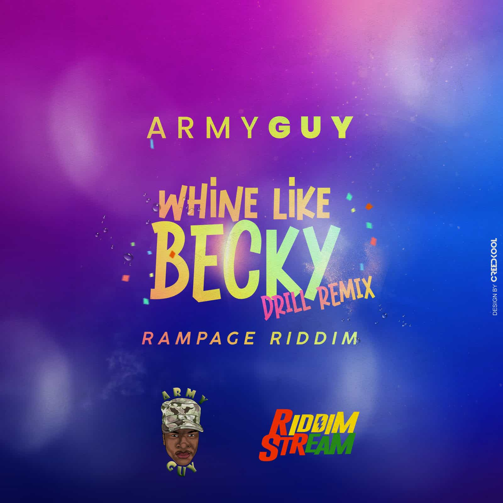 Army Guy - Whine Like Becky (Rampage Riddim) (Drill Remix)
