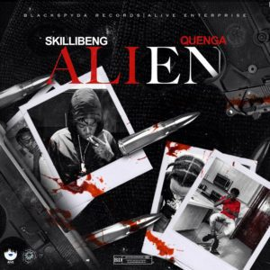 Skillibeng & Quenga - Alien - Black Spyda Records / Alive Enterprise