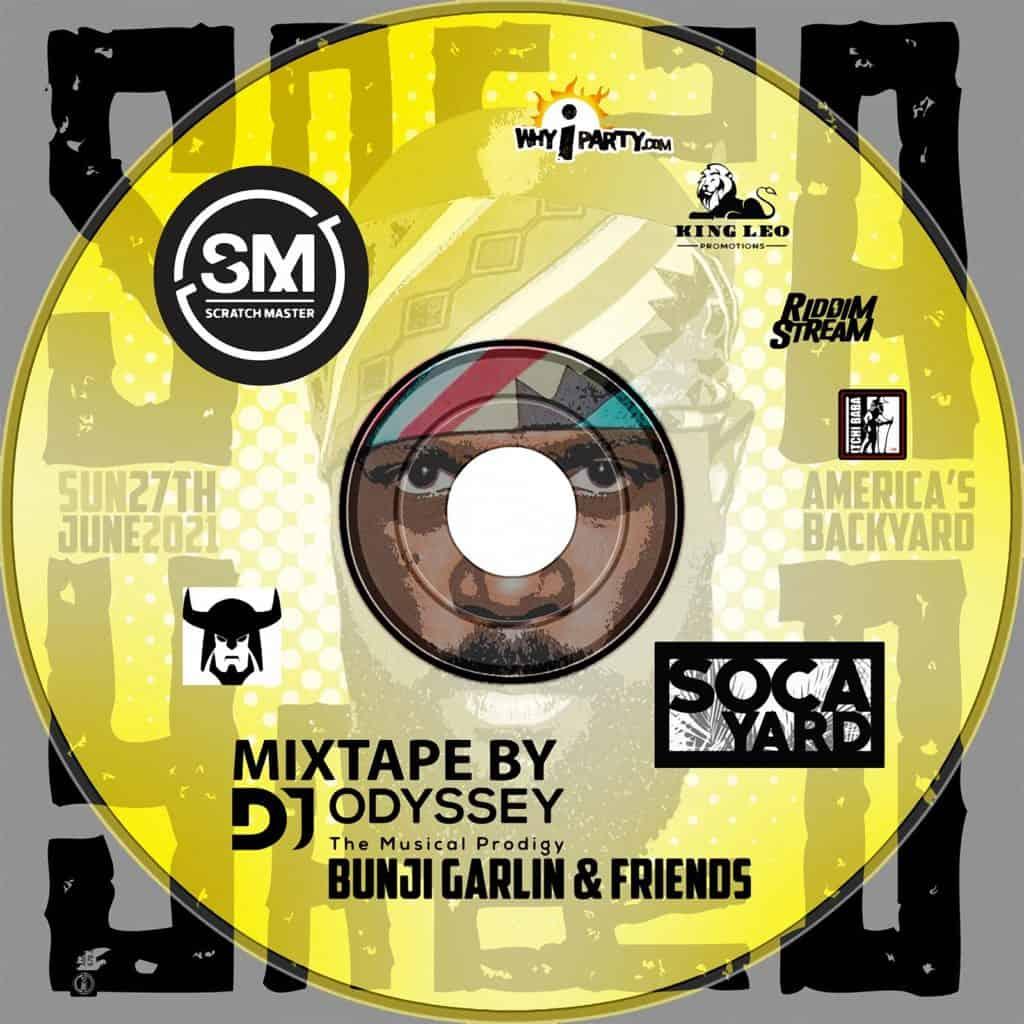 #SOCAYARD Mixtape by DJ Odyssey V1