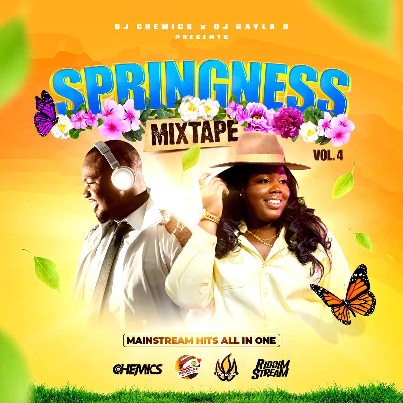 DJ Chemics x DJ Kayla G - Springness - 2021 Mainstream Mixtape