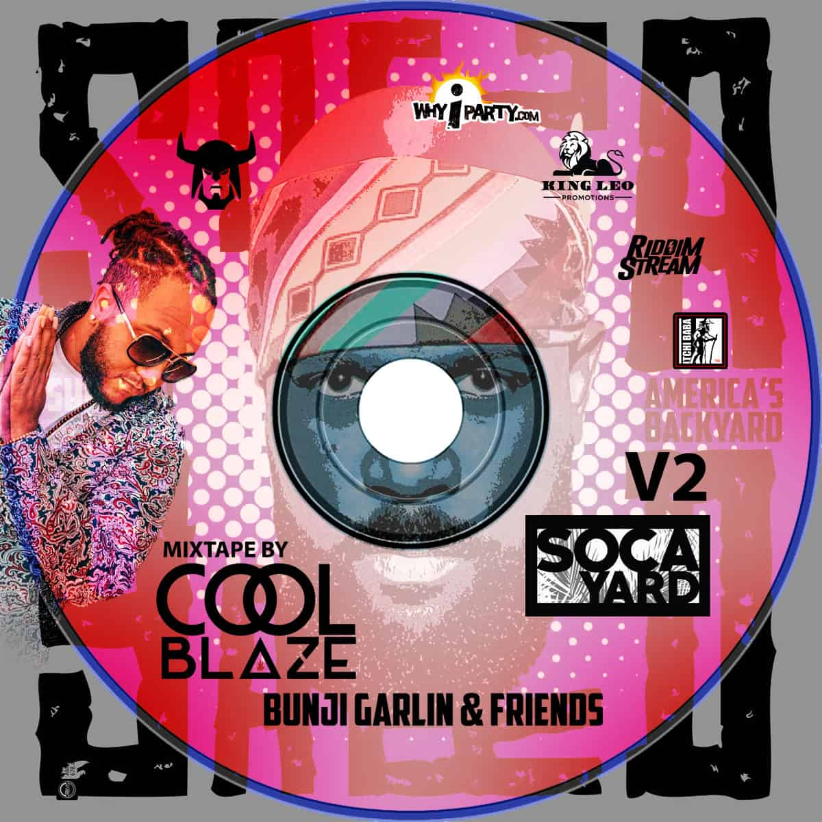 Soca Yard v2 mixtape by LL Cool Blaze