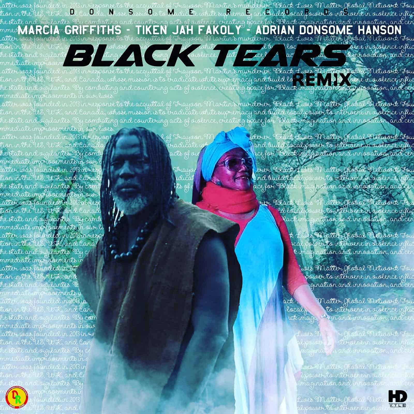 Marcia Griffiths & Tiken Jah Fakoly - Black Tears Remix - Donsome Records