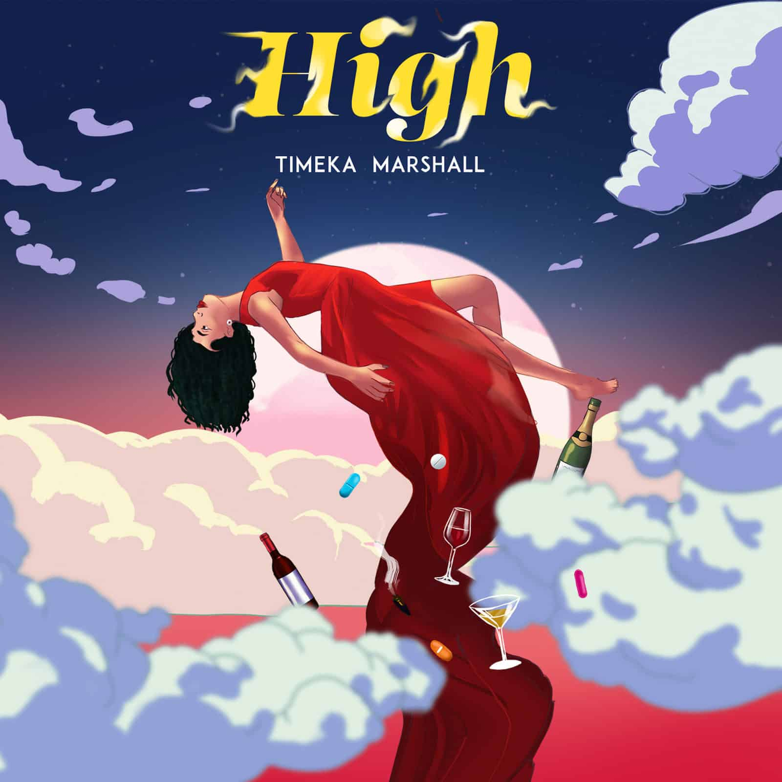 Timeka Marshall ft Skorch Bun It & CoolBlaze - High